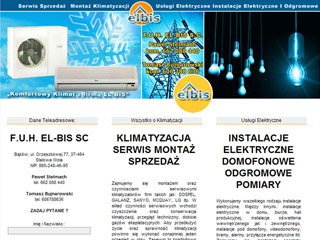 ELBIS-SC Kliamtyzacja i Instalacje Elektryczne