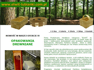 Elwit Łubianki - Producent opakowań drewnianych